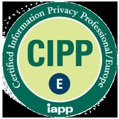 GDPR CIPP/E CERTIFIED